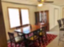 Framehouse Safe House dining room