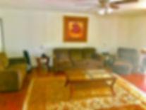 Framehouse Safe House living room