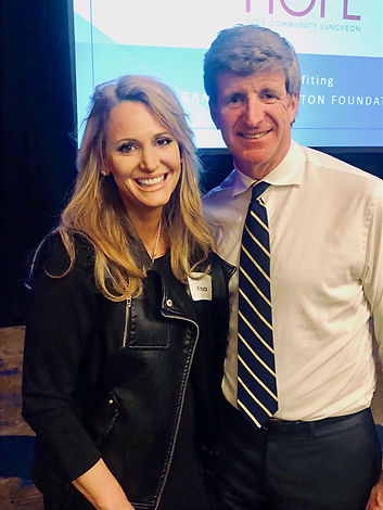The Honorable Patrick Kennedy and Founder project Designate 988 Kristinna Brown