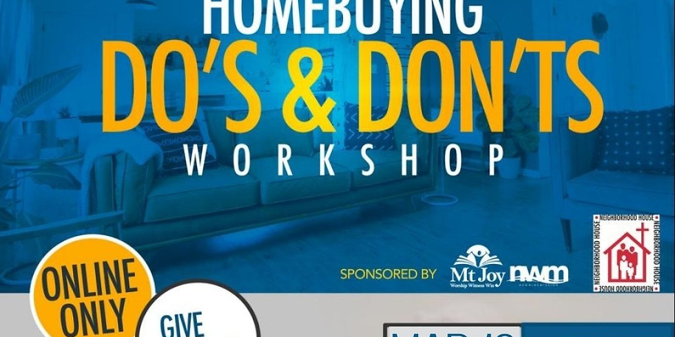 Homebuyer Do's and Don'ts
