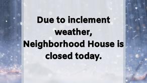 It's Snowing Again...