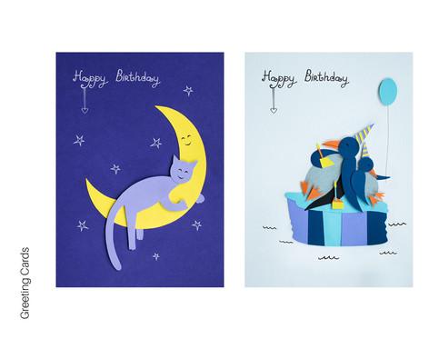 Papurys greeting cards