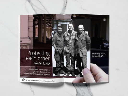 Print Ad spread in Vietnam Magazine