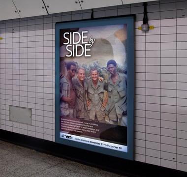 "TV show ""Side-by-Side"" at Vet TV"