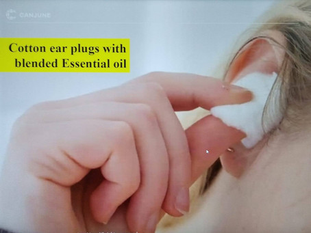 芳香耳塞和鼻腔油