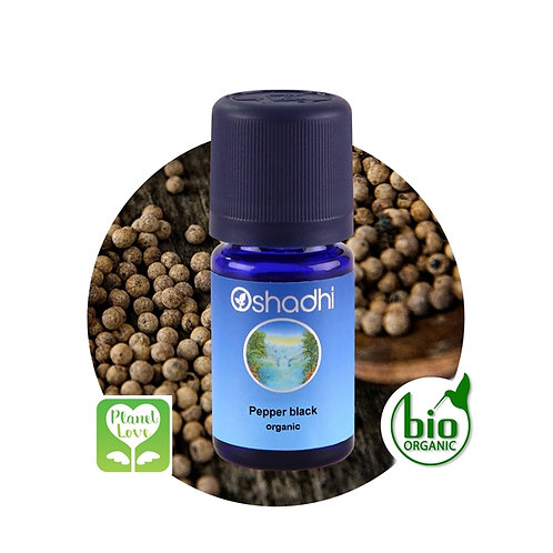 Pepper Black organic 有機黑胡椒精油 5ml