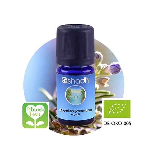 Rosemary (Verbenone) organic 有機馬鞭草酮迷迭香精油 10ml