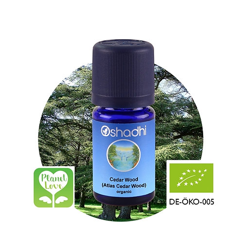 Cedar Wood (Atlas Cedar Wood) organic 有機大西洋雪松精油 10ml