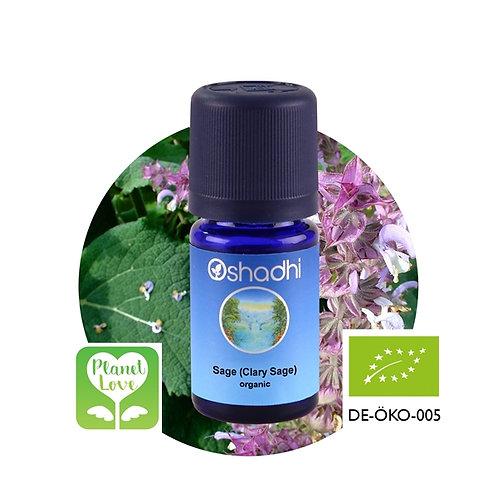 Sage (Clary Sage) organic 有機快樂鼠尾草精油 3ml