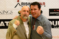 Dan with UFC fighter Chael Sonnen