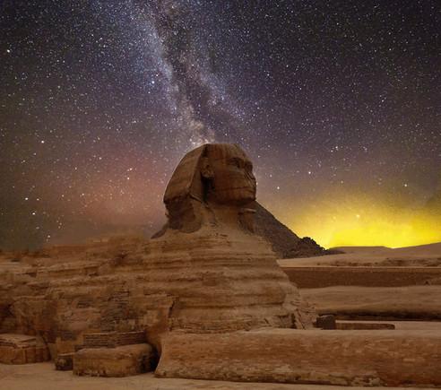Christ Cosmique | Le Sphinx est doré