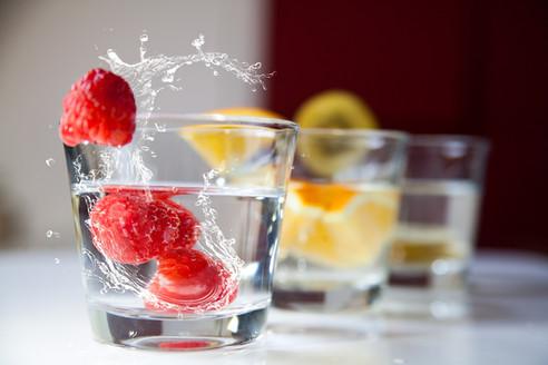 Bénédiction de l'eau et de la nourriture