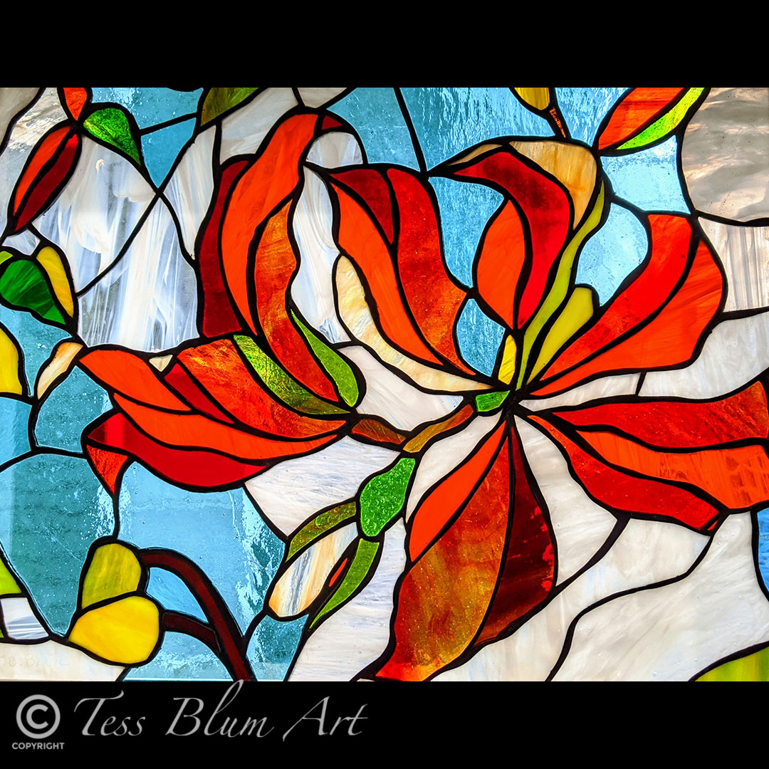 Southern Orchid Stained Glass Instagram.