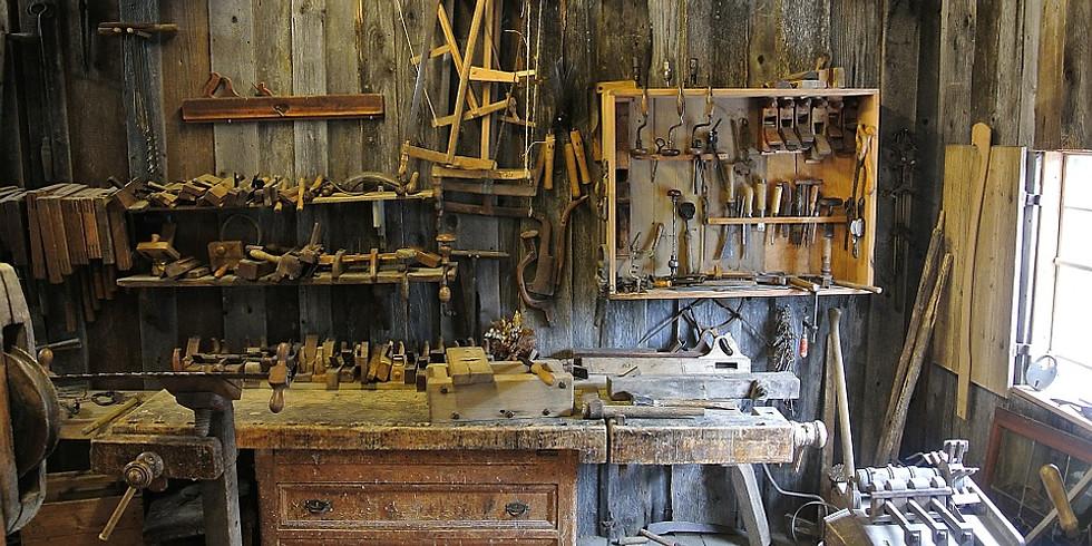 Handwerkzeuge schärfen - Maschinen unterhalten (1)