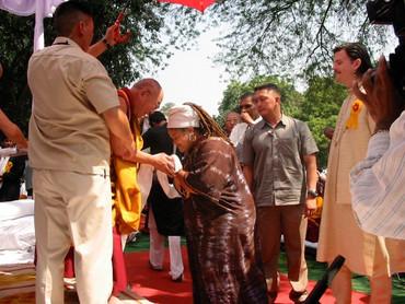 Meeting His Holiness the Dalai Lama