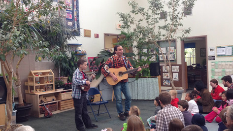 Maryland Day performance at the Center for Young Children