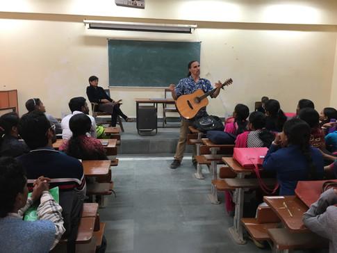 Music Workshop at Banaras Hindu University