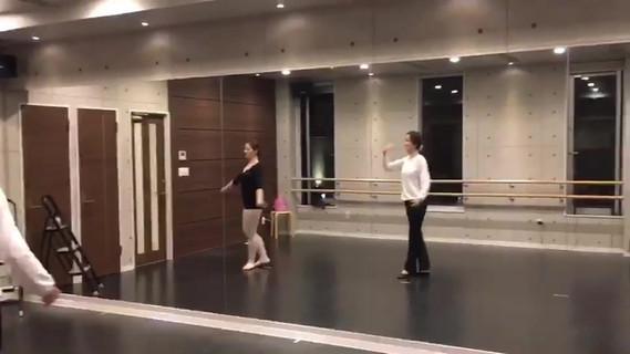 バレエ大人クラス