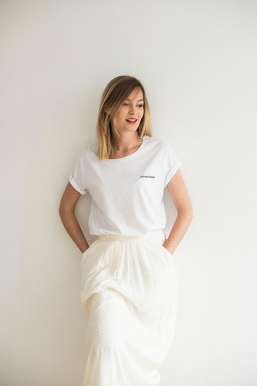 Tee-shirt amoureuse Buttée. Paris chez Sixtine Nice