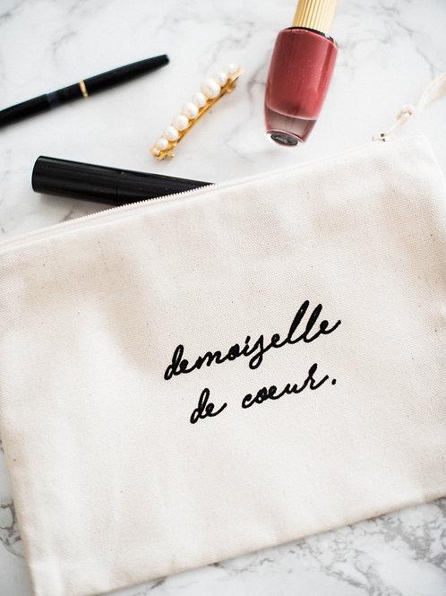 "Handbag ""demoiselle de coeur."""