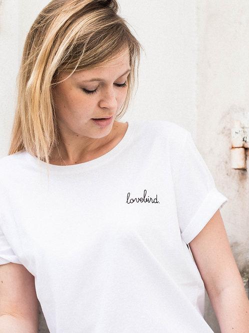 """Tee-shirt """"lovebird."""""""