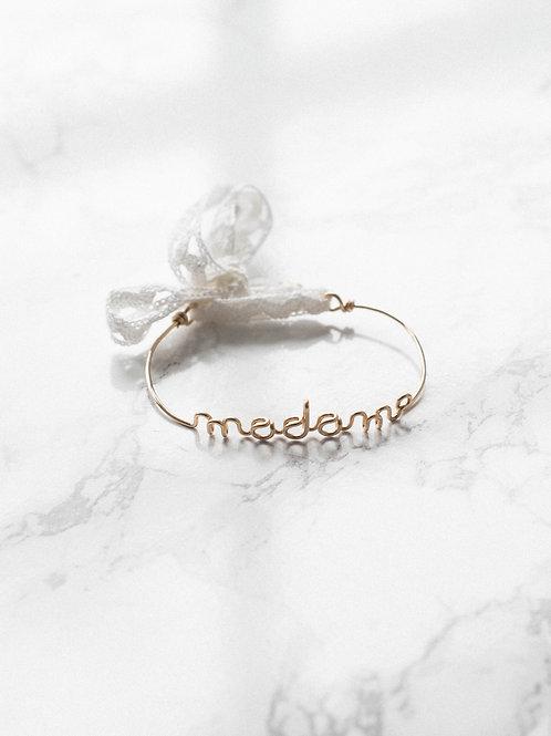 """Bracelet """"madame"""" Buttée. Paris x Padam Padam"""