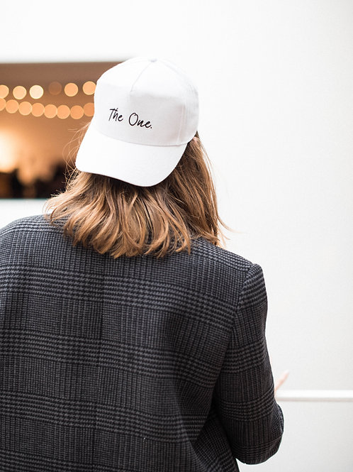 "Casquette ""The One."""