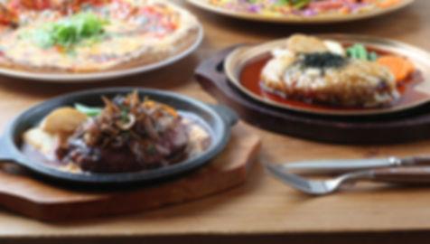 ハンバーグ ウト・ウーク 料理写真