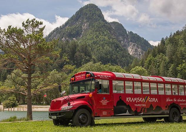 Hop on - hop off bus
