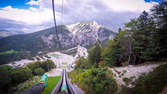Zipline Planica and Wind tunnel