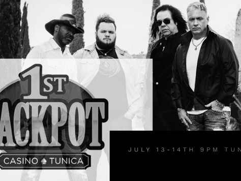 Spend the weekend with MUB appearing in Tunica MS July 13-14th 9pm @ the Jackpot Casino.