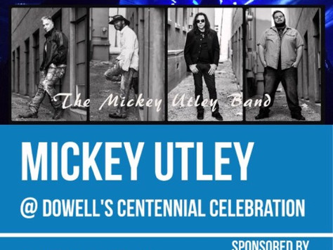 MUB appearing @ The  Dowell Centennial Celebration in Dowell Illinois June 30th.