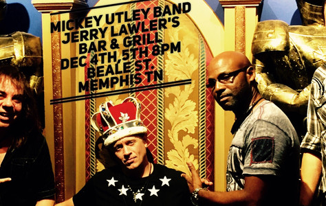 If your in the Memphis TN area tonight, head down to Beale St to Jerry Lalwlers Hall of Fame Bar & G