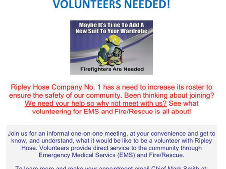 Volunteers Needed - Click here to learn more!