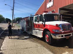 Firetruckwashing