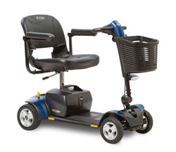 blue traveler scooter
