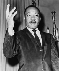 In honor of Dr. Martin Luther King, Jr. day, a few favorite quotes...