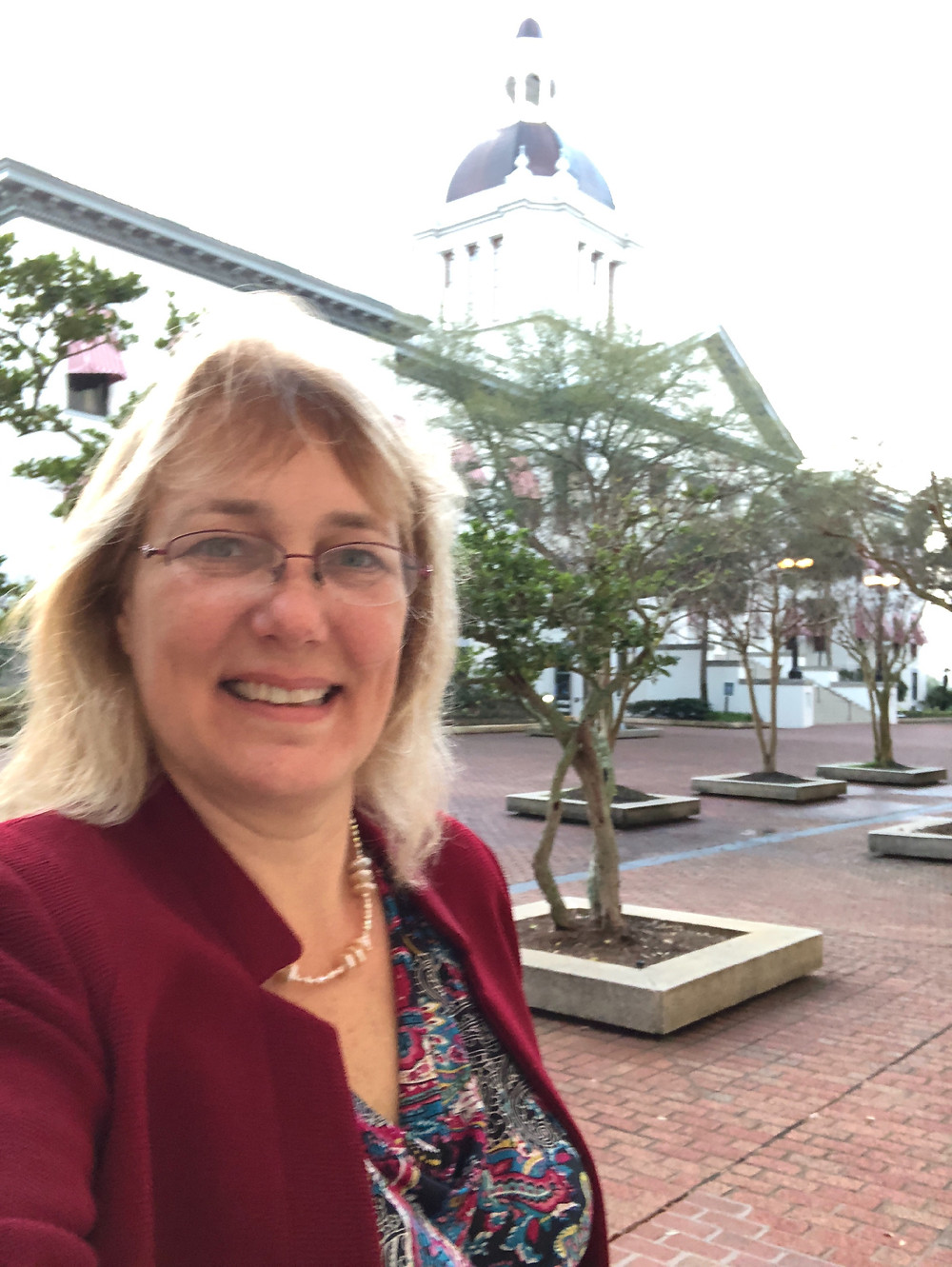 Dr. Mary Riggin at FL's State Capitol