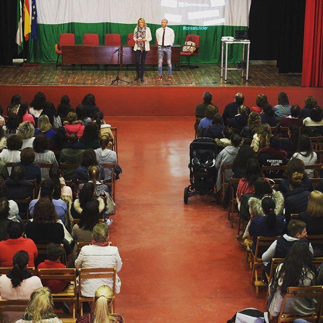 Sesión de hablar en público