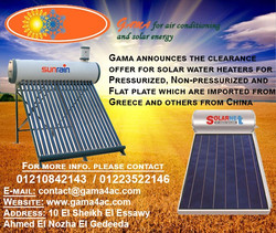 Solar Water Heater Clearance Offer