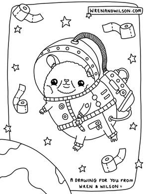 JPEG - Hamster in Space by Wren & Wilson