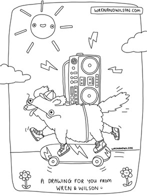 JPEG Colouring page