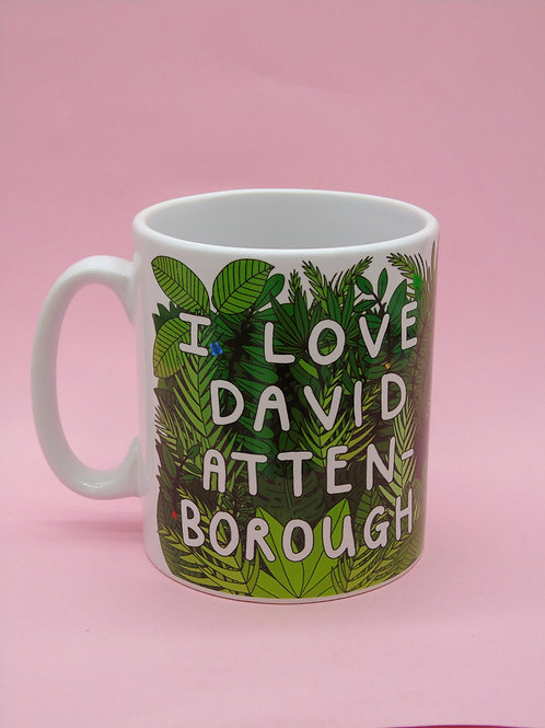 I Love David Attenborough Mug