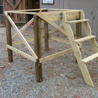 4' legs w/ Jimmy Stepper Ladder