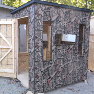Mossy Oak Deluxe 5' x 6' w/ box windows