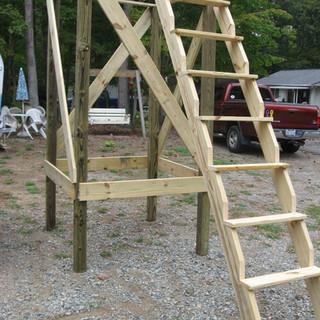 8' legs w/ Jimmy Stepper Ladder