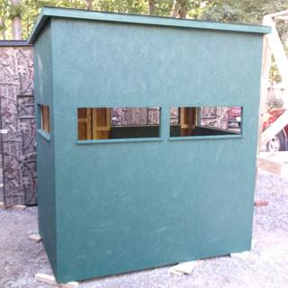 Painted 4' x 6' w/ box windows