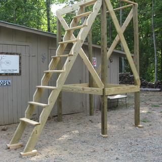 10' legs w/ Jimmy Stepper Ladder
