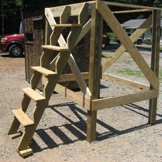 6' legs w/ Jimmy Stepper Ladder