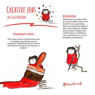 Scarlet as an Illustrator